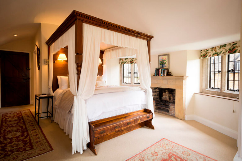 Example of Abbots Grange bedroom interior photography