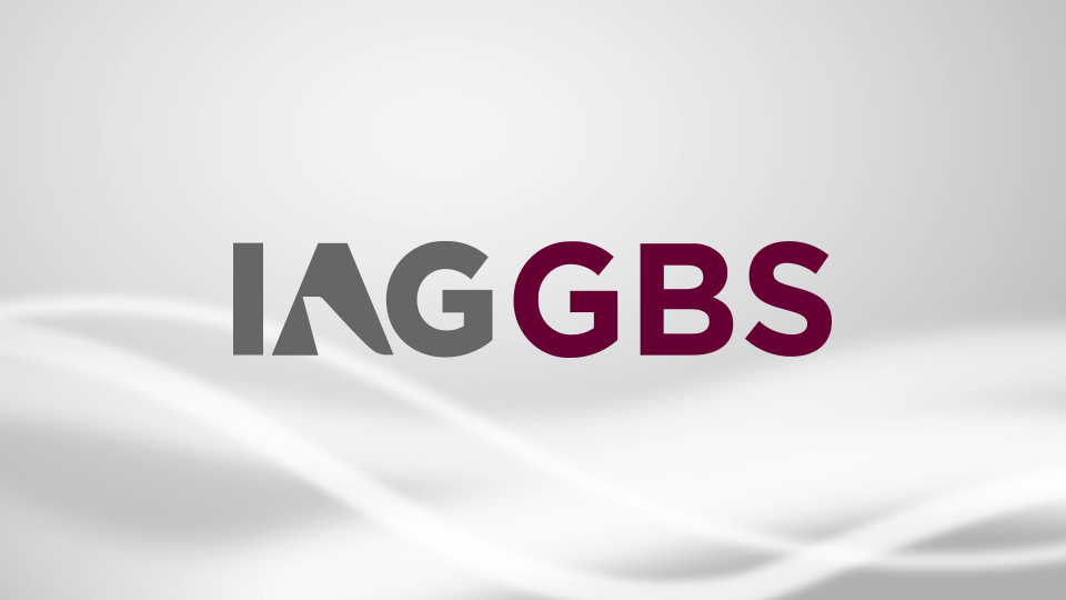 IAGGBS logo on gradient background