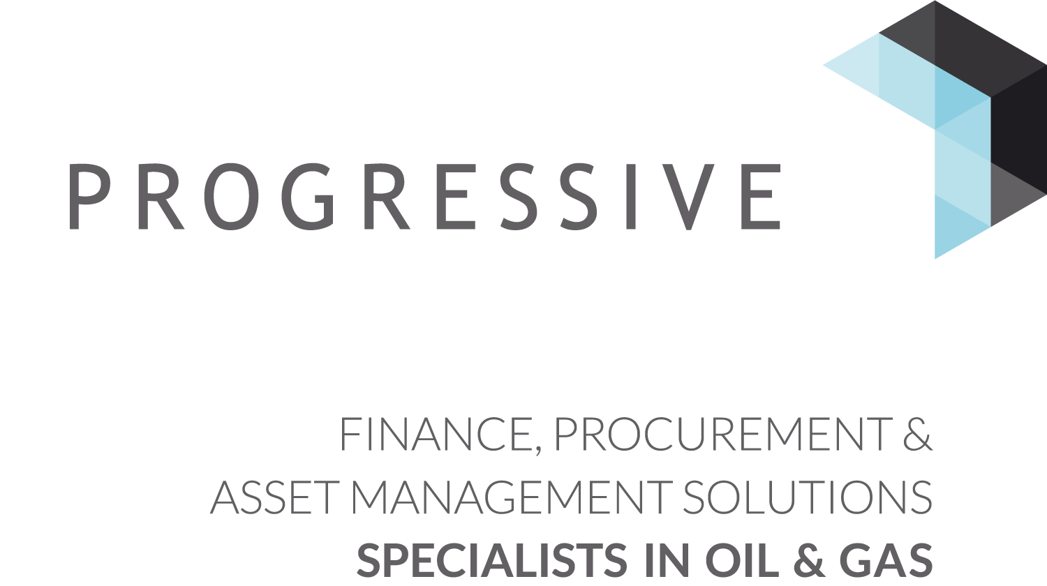 Progressive logo and strapline