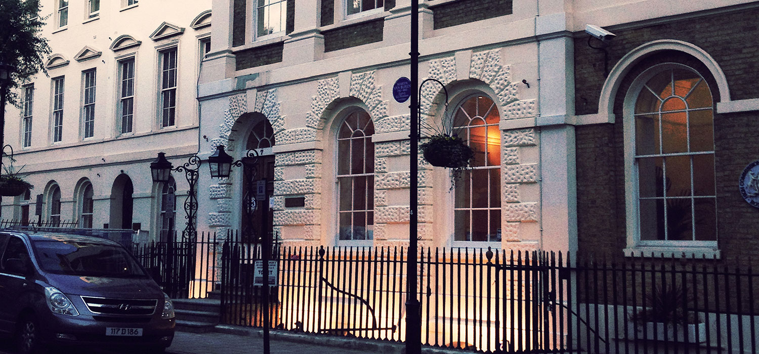 Exterior shot of James Good office in London