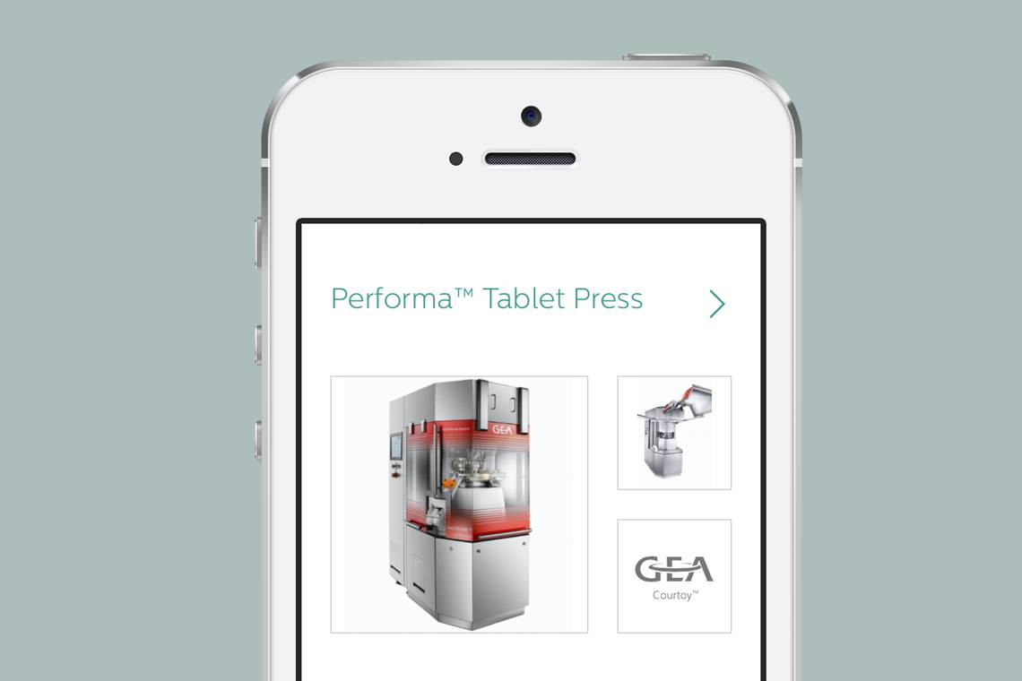 S3 Process website on mobile device
