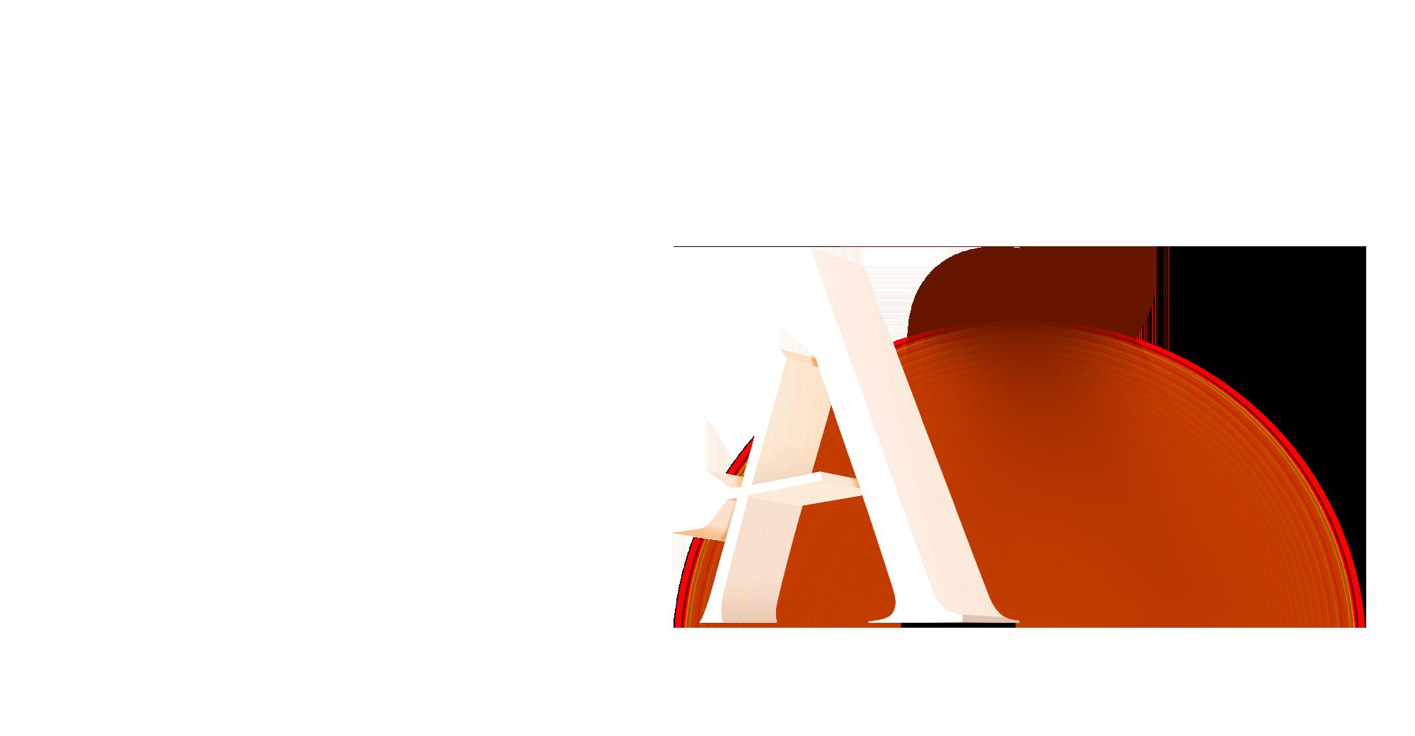 Agreus logo 3D type