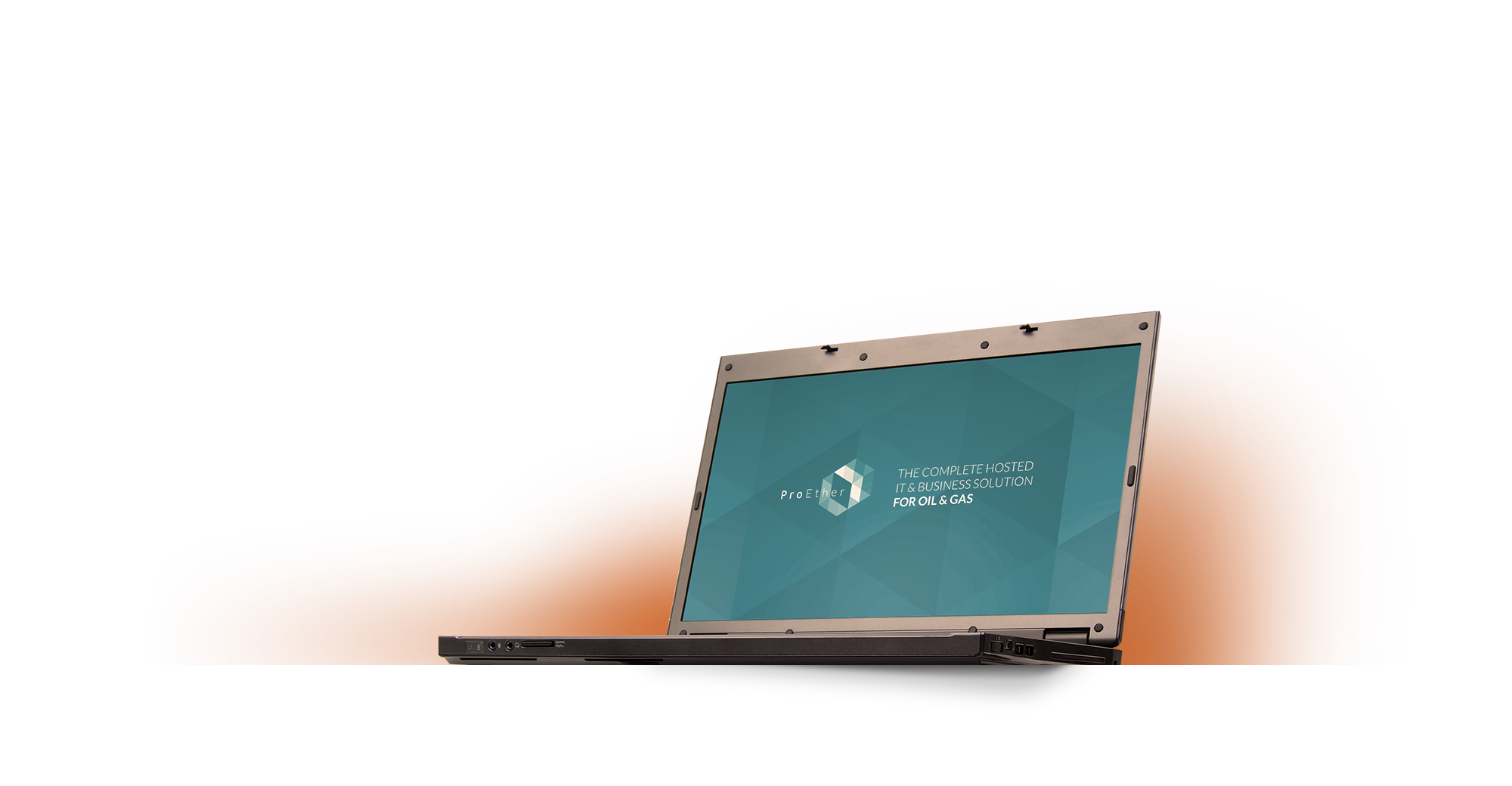 Progressive ProEther cloud solution on laptop