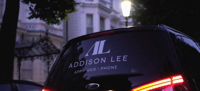 New adison lee branding on side of a van