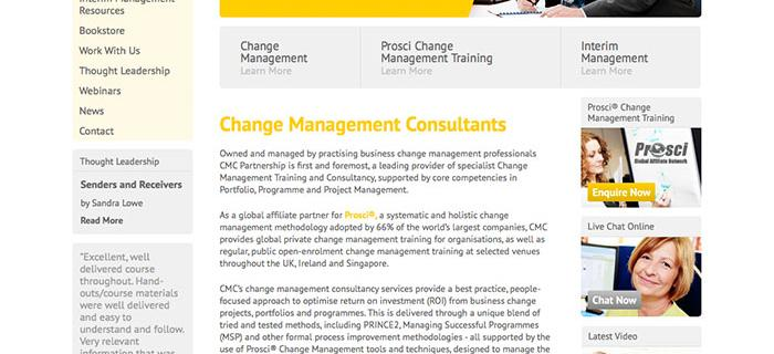 CMC Partnerships's Website