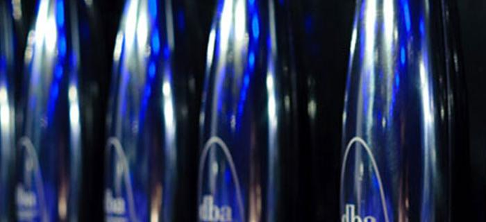 The coveted DBA Design Effectiveness Awards trophy