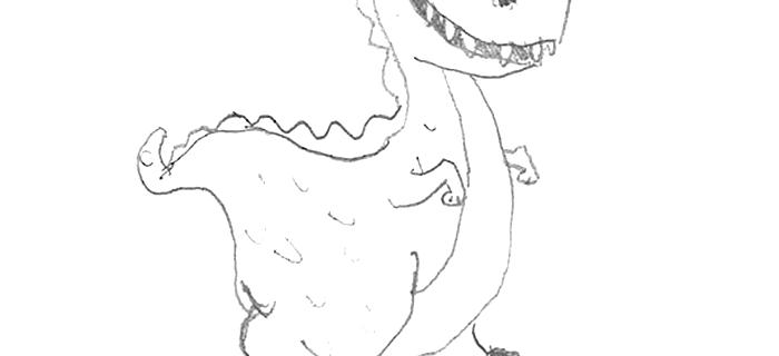 M&S Dinosaur
