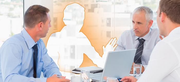 Boardroom with missing Marketing Leader