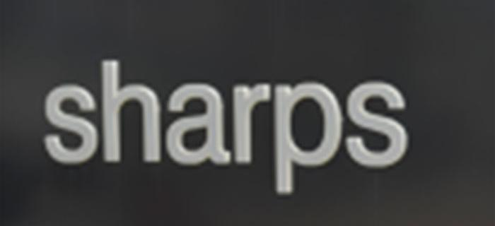 Moben, Sharps and dolphin logo