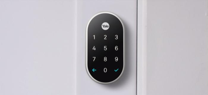 Image of digital Yale lock