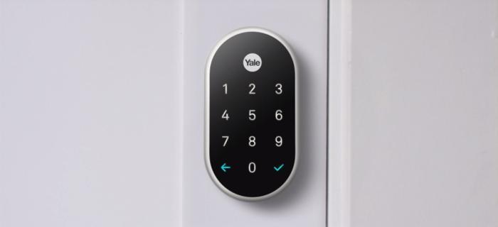 Image of digital Yale lock