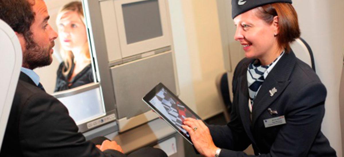 British Airways Flight Attendant