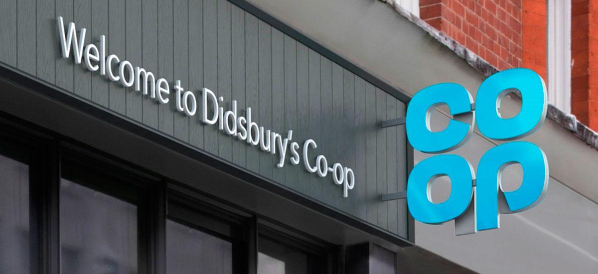Co-Op Rebranded Shop Front