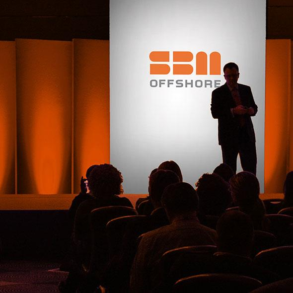 SMB Offshore conference presentation photo